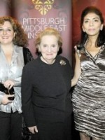 Former Secretary of State, Madeleine Albright speaks at Pittsburgh Middle East Institute Conference