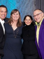 The four designers: Tim Komen, Shelly Tolo, Sheila Weiner and Bob Sendall